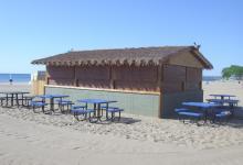 Bradford Beach Tiki Huts